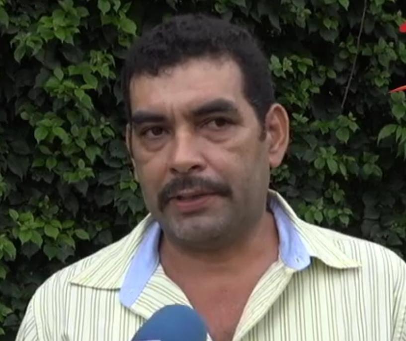 Mario Lener Fonseca, líder campesino anticanal. LA PRENSA/ ARCHIVO