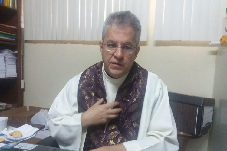 Monseñor MIguel Mántica Cuadra, miembro de la Arquidiócesis de Managua