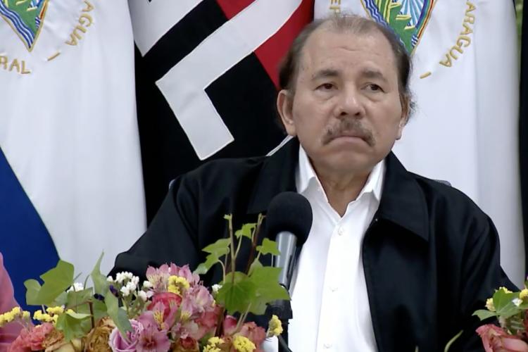 Daniel Ortega, dictador de Nicaragua. LA PRENSA/ ARCHIVO
