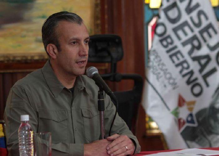 Tareck El Aissami, ex vicepresidente de Venezuela. LA PRENSA/ EFE