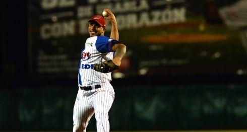 Manauris Báez se apuntó su primera victoria de la campaña con el Bóer. LA PRENSA/ARCHIVO/JADER FLORES
