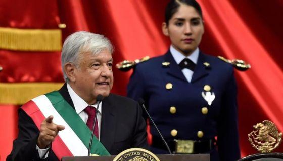 Andrés Manuel López Obrador habló durante más de una hora de sus futuras acciones de gobierno.Reuters