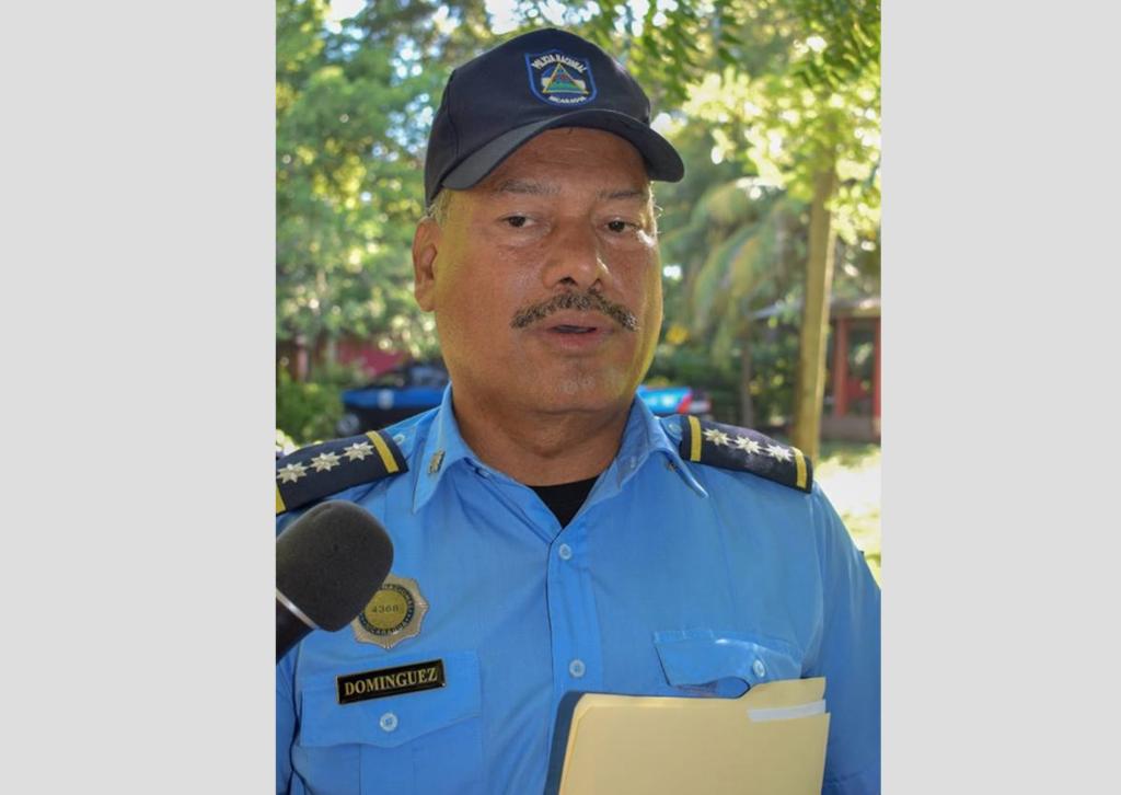 Fidel Domínguez, el jefe orteguista de la Policía en León. LA PRENSA/ ARCHIVO