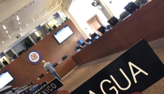 Nicaragua, OEA