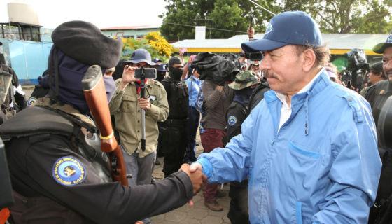 Daniel Ortega, dictadura, #SOSNicaragua, protesta, represión, Somoza