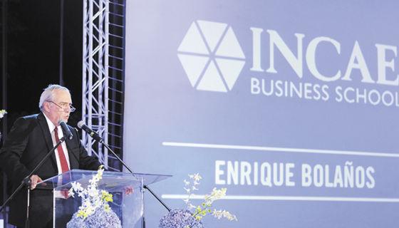 El rector del INCAE, Enrique Bolaños Abaunza. LA PRENSA/ ARCHIVO /Lissa Villagra