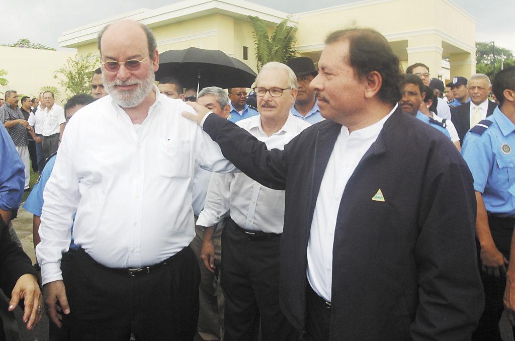 Rafael Solís, Daniel Ortega