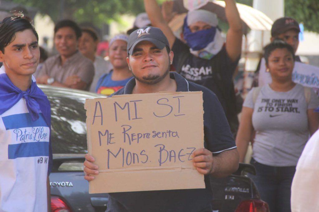 Byron Estrada, presos políticos