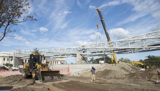 Puentes peatonales en Managua