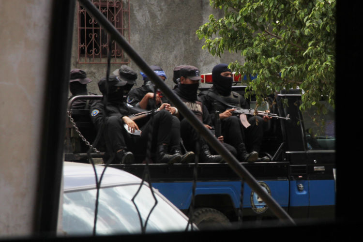 La Policía Orteguista ha desatado una persecución de opositores en toda Nicaragua. LA PRENSA/ ARCHIVO