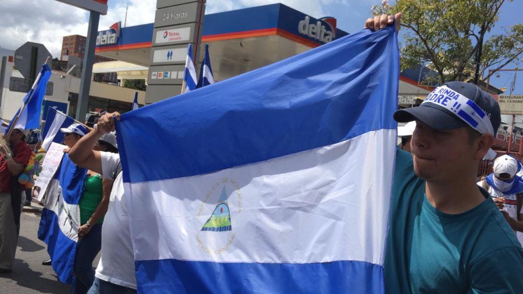 """""""El esfuerzo que debe hacer el pueblo de Nicaragua es unirse todos los sectores para que salgamos de esta dictadura asesina"""", expresó Mónica López Baltodano. LA PRENSA/ GERALL CHÁVEZ/ CORTESÍA"""