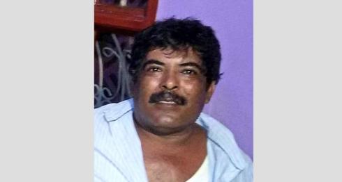 Saúl Fonseca, hermano del dirigente campesino Mario Lener fonseca, fue secuestrado por la Policía Orteguista en Acoyapa. LA PRENSA/ CORTESÍA
