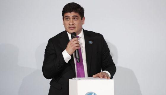 El presidente costarricense Carlos Alvarado. LA PRENSA/ Archivo/ EFE