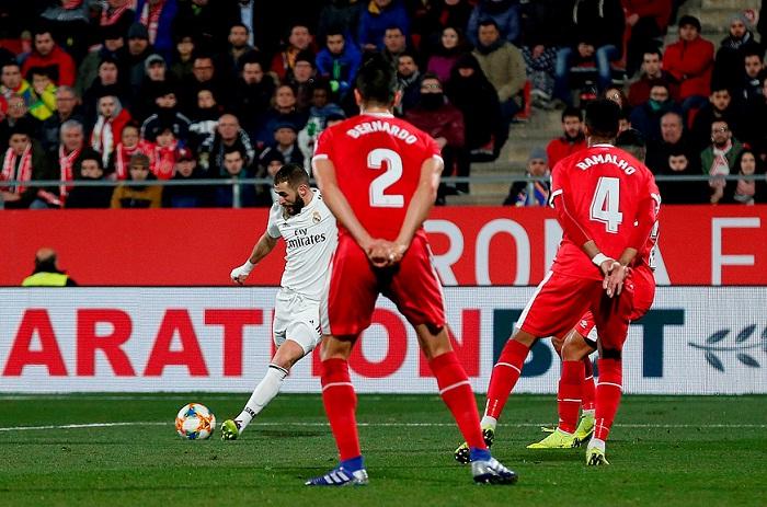 Real Madrid Embiste Al Girona Y Esta En Semifinales De La Copa Del Rey