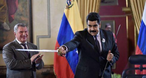 La petrolera rusa Rosneft asegura que Venezuela ha cumplido con el pago de sus deudas.Getty Images