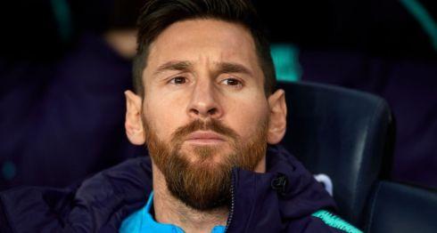 Lionel Messi llegó al FC Barcelona en el año 2000 a la cantera del club catalán.Getty Images