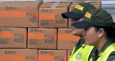 ayuda, Venezuela, Colombia