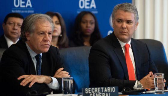 Luis Almagro, Ivan Duque