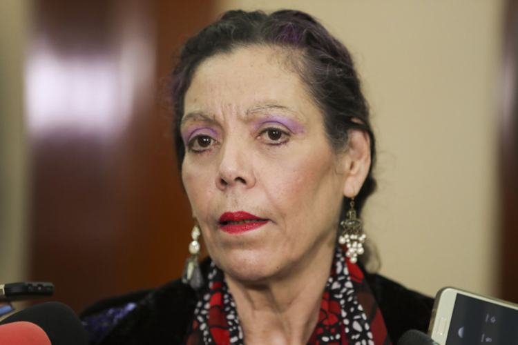 Rosario Murillo, codictadora de Nicaragua. LA PRENSA/ Tomada de El 19