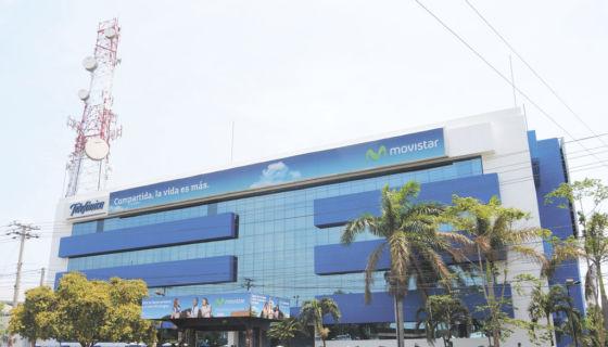 Telefónica opera en Nicaragua bajo la marca Movistar. LA PRENSA/ ARCHIVO