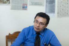 El abogado Julio Montenegro denunció la más reciente golpiza a los presos políticos. LA PRENSA/Archivo