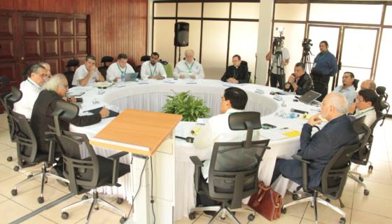 El reinicio del Diálogo Nacional en Nicaragua se da en la sede del INCAE. LA PRENSA/ CORTESÍA ALIANZA CÍVICA