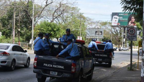 policía, Nicaragua, protestas