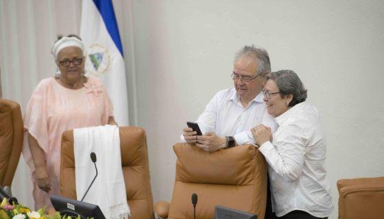 convenio colectivo, Asamblea Nacional, sindicatos, Gustavo Porras, Nicaragua