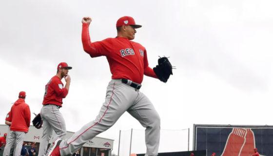 Erasmo Ramírez empezará la temporada del beisbol rentado estadounidense en Ligas Menores, con la organización de los Medias Rojas de Boston. LA PRENSA/ARCHIVO