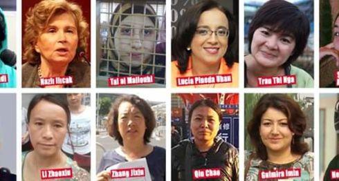 mujeres, Lucia Pineda,periodistas