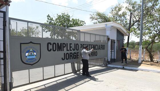 Presos en Nicaragua