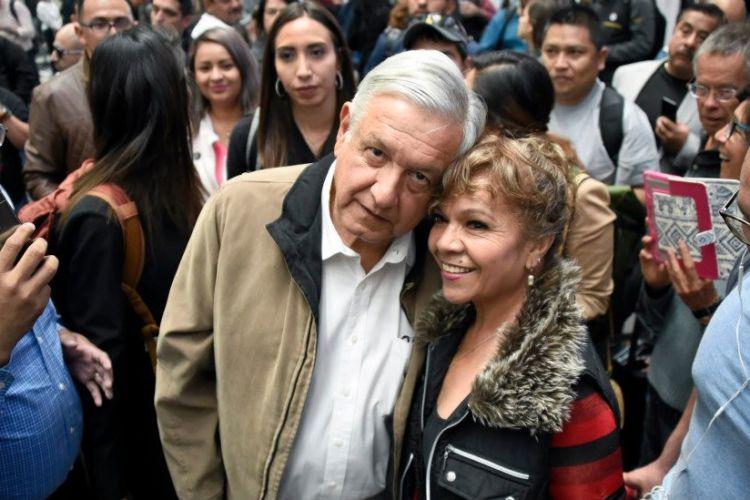 Andrés Manuel López Obrador es el presidente con mayor respaldo en la historia de México.AFP