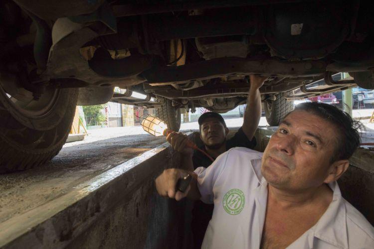 Inspección mecánica en Nicaragua