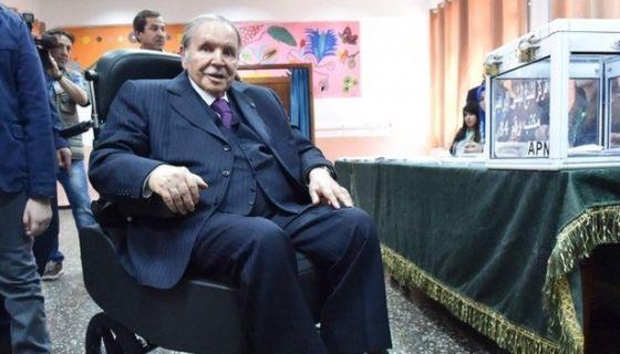 El presidente Abdelaziz Bouteflika no ha dado un discurso público desde 2014.AFP