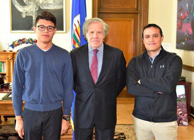 Luis Almagro, OEA, Movimiento Universitario, #SOSNicaragua, Alianza Cívica por la Justicia y la Democracia