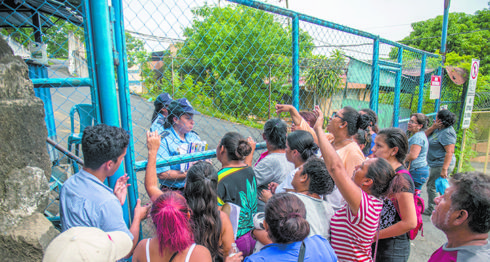 Desaparecidos en Nicaragua