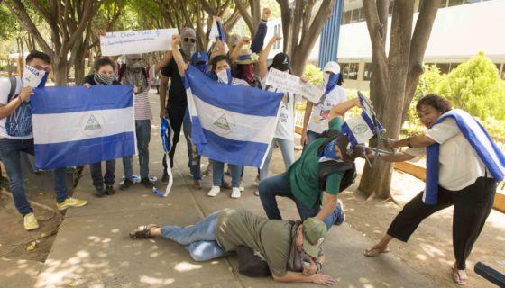 Protestas contra Daniel Ortega