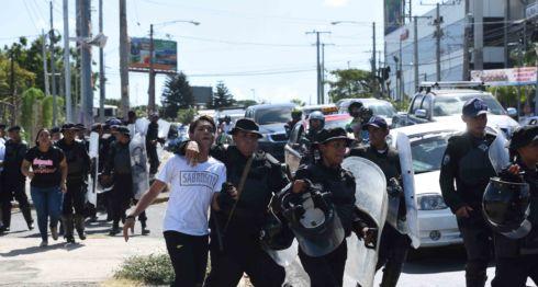 Meseni, Nicaragua, protestas