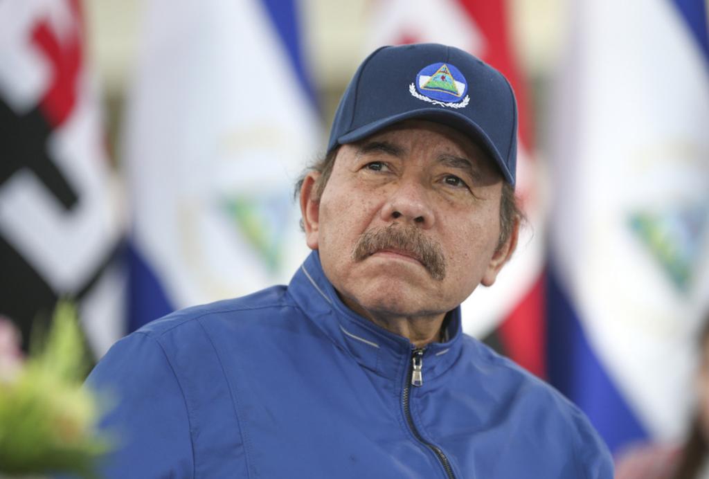 Daniel Ortega, el dictador de Nicaragua, luce deteriorado físicamente por la edad. LA PRENSA/ TOMADA DE EL 19