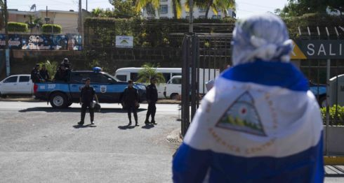 Policía Orteguista, CPDH, Constitución, represión, #SOSNicaragua