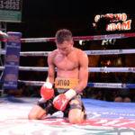 Cristofer González noquea a Eliecer Quezada y está listo para volver a ser campeón