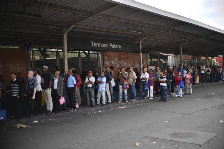 Venezuela, apagón eléctrico