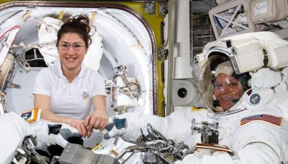 NASA, mujeres