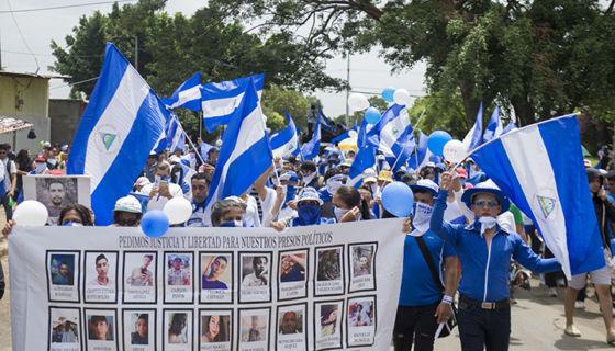 Presos políticos, reos, régimen Daniel Ortega, #SOSNicaragua