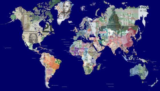Los multimillonarios tampoco están repartidos equitativamente por el mundo.Getty Images
