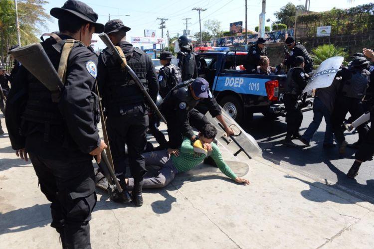 Ley del perdón, amnistía, represión, Nicaragua, presos político