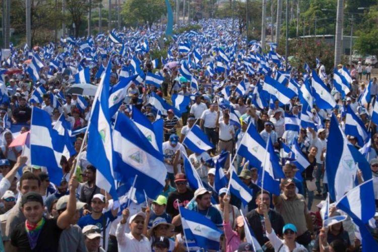 marcha Nicaragua
