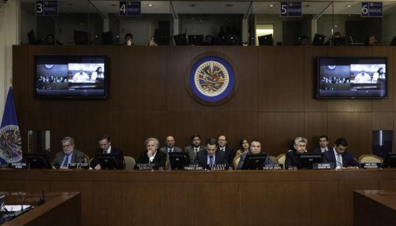 OEA; Nicaragua, represión, consejo permanente, Daniel Ortega, Alianza Cívica