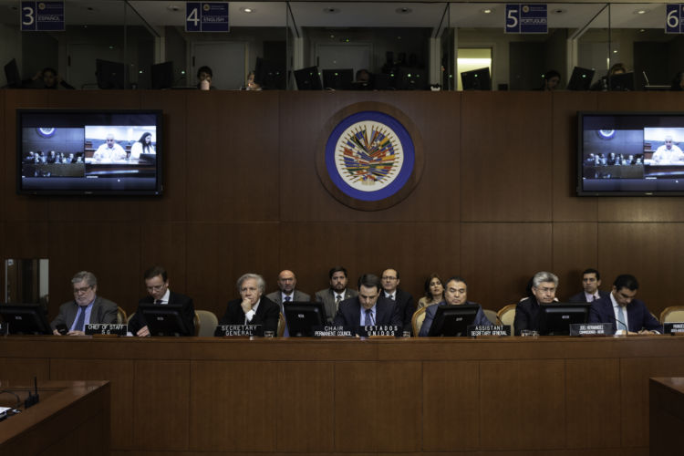 OEA; Nicaragua, represión, presos políticos