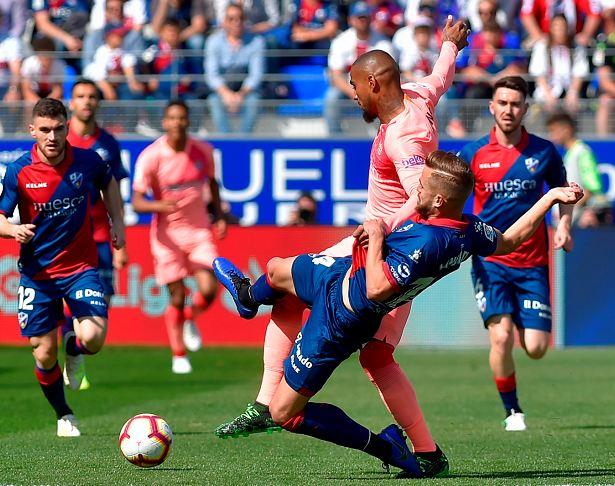 Un Barcelona B Empata Sin Goles En La Cancha Del Colista Huesca